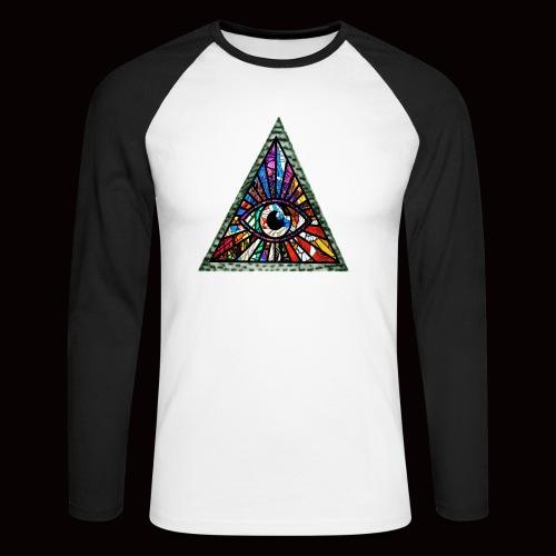 ILLUMINITY - Men's Long Sleeve Baseball T-Shirt