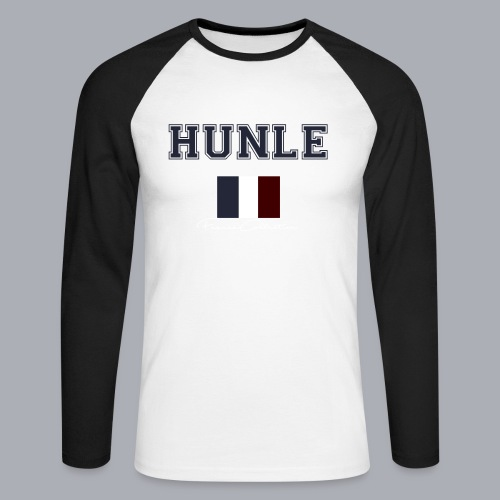 hunle French Collection n°1 - T-shirt baseball manches longues Homme