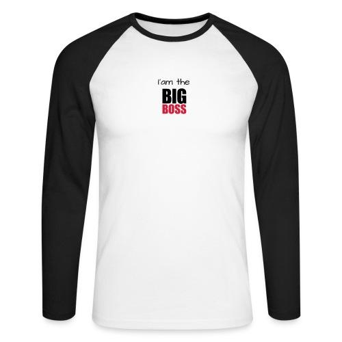 I am the big boss - T-shirt baseball manches longues Homme