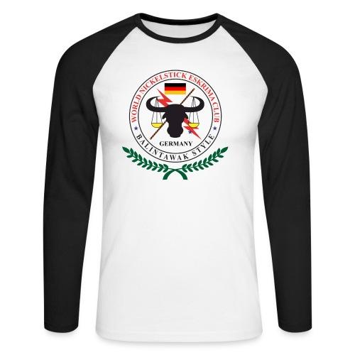 02 nickelstick germany 2 - Männer Baseballshirt langarm