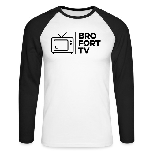 Bro fort TV - Men's Long Sleeve Baseball T-Shirt