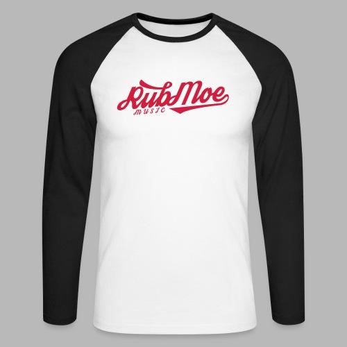 RubMoe - Langermet baseball-skjorte for menn
