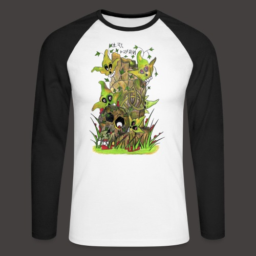 Ivy Death - T-shirt baseball manches longues Homme