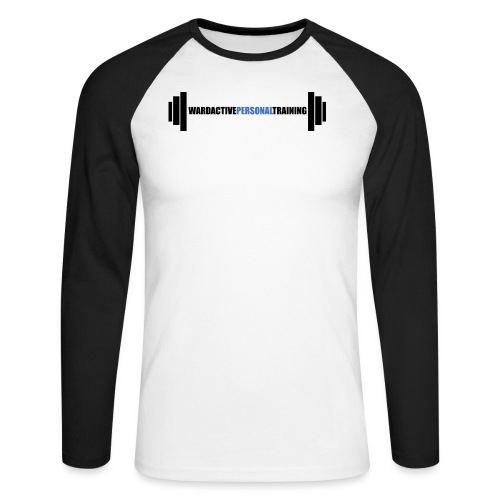 logoforlightlarge - Men's Long Sleeve Baseball T-Shirt
