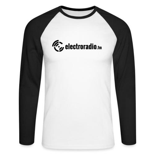 electroradio.fm - Men's Long Sleeve Baseball T-Shirt