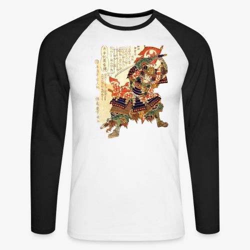SAMURAI ESTAMP - T-shirt baseball manches longues Homme
