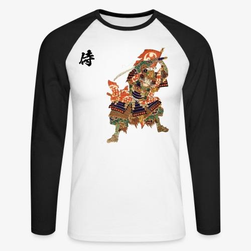 SAMURAI ESTAMPE - T-shirt baseball manches longues Homme
