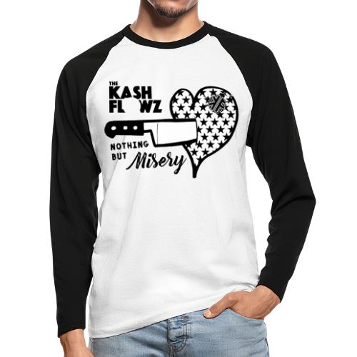 Nothing But Misery Logo - T-shirt baseball manches longues Homme