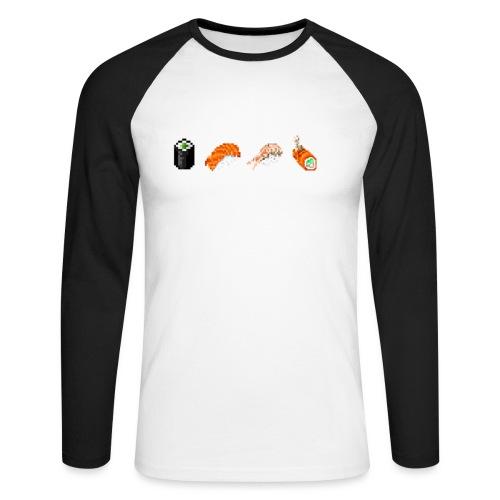 Affiliated Badges - Mannen baseballshirt lange mouw