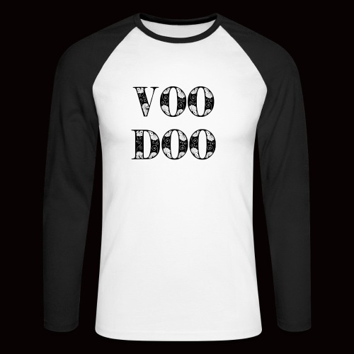 VoodooBrand T-Shirt - Men's Long Sleeve Baseball T-Shirt