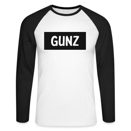 Gunz - Langærmet herre-baseballshirt