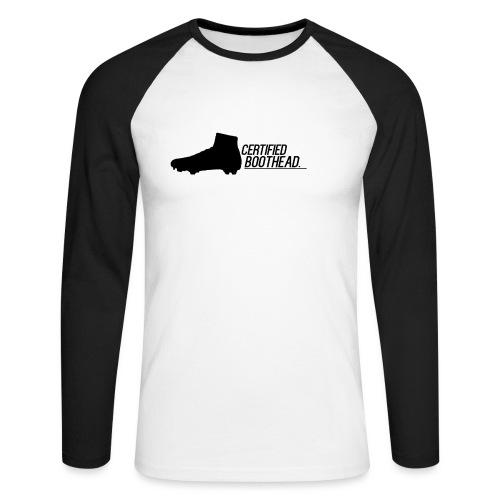 Certified Boothead - Men's Long Sleeve Baseball T-Shirt