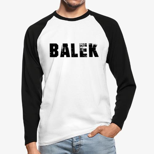 BALEK - T-shirt baseball manches longues Homme