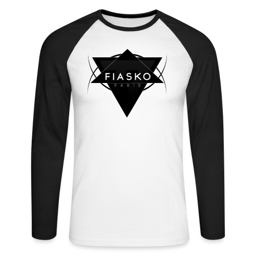 logo fiasko new png - T-shirt baseball manches longues Homme