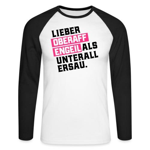 Ober-AFFEN-GEIL - Männer Baseballshirt langarm