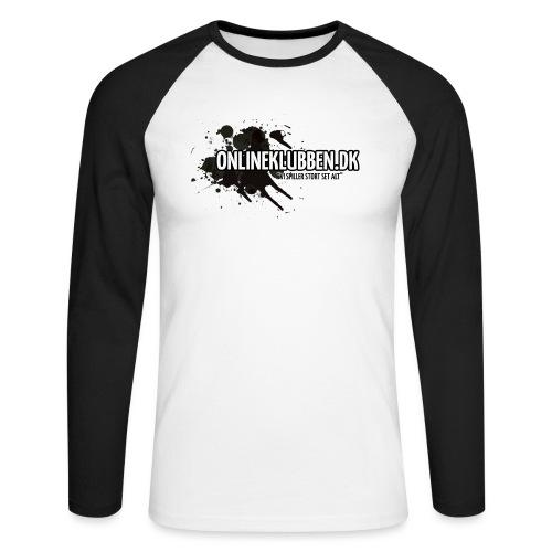 SPLASH OK png - Langærmet herre-baseballshirt