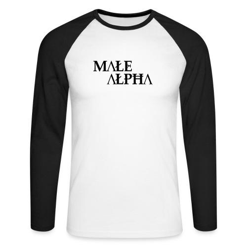 male alpha - T-shirt baseball manches longues Homme