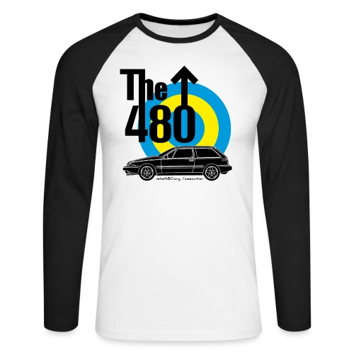 The 480 - T-shirt baseball manches longues Homme