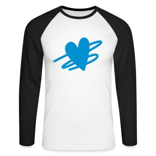 I Balance Design - Langærmet herre-baseballshirt