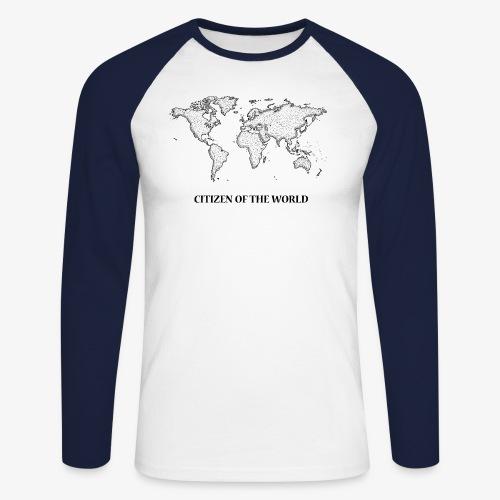 citizenoftheworld - Men's Long Sleeve Baseball T-Shirt