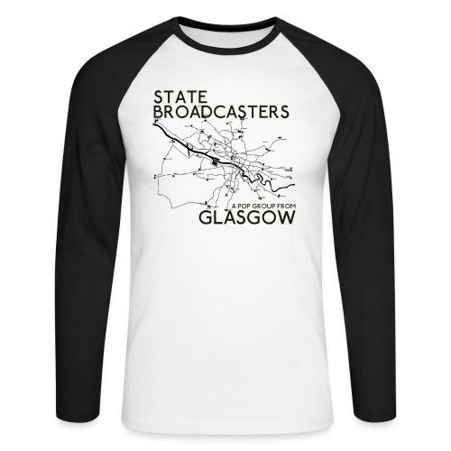 Pop Group From Glasgow - Men's Long Sleeve Baseball T-Shirt