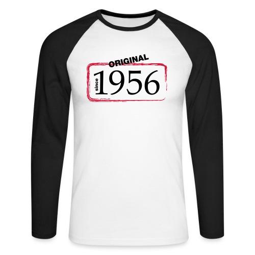 1956 - Männer Baseballshirt langarm