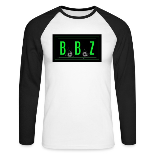 GREEN LOGO jpg - Men's Long Sleeve Baseball T-Shirt