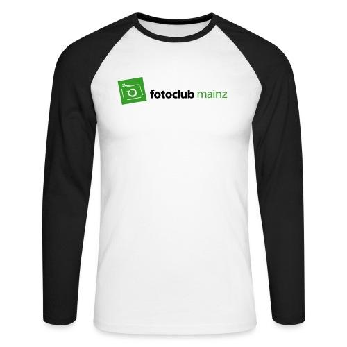 FC Logo Grün Schwarz - Männer Baseballshirt langarm
