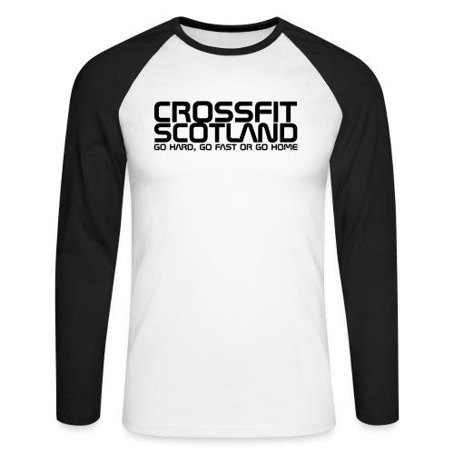 hard Hoodies & Sweatshirts - Men's Long Sleeve Baseball T-Shirt