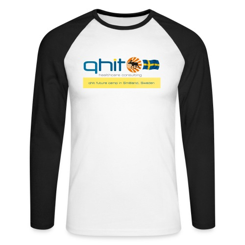 qhit future camp Smaland - Männer Baseballshirt langarm