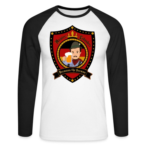 Hermann the German - Men's Long Sleeve Baseball T-Shirt