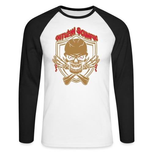 Outlaw Scumfuc - Männer Baseballshirt langarm