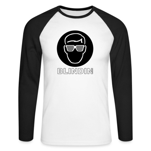 blindin3000 - Men's Long Sleeve Baseball T-Shirt