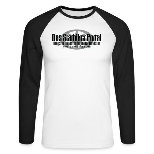 Portal LOGO - Männer Baseballshirt langarm