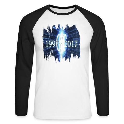GuttaTur 20 years - Langermet baseball-skjorte for menn