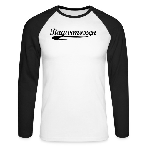 Bagarmossen - Långärmad basebolltröja herr