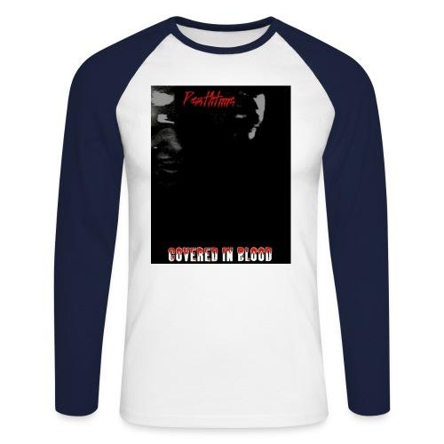 coveredinbloodcovershirt - Miesten pitkähihainen baseballpaita