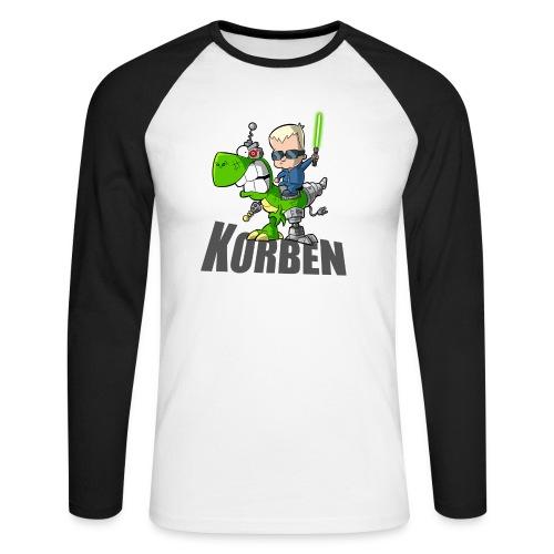 korben 1 DD - T-shirt baseball manches longues Homme