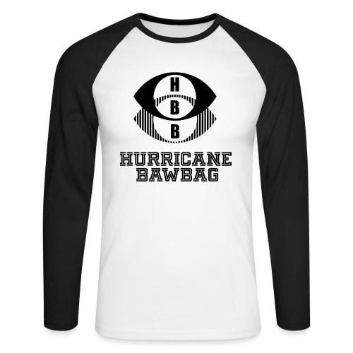 Hurricane BawBag HBB T Shirt - Men's Long Sleeve Baseball T-Shirt