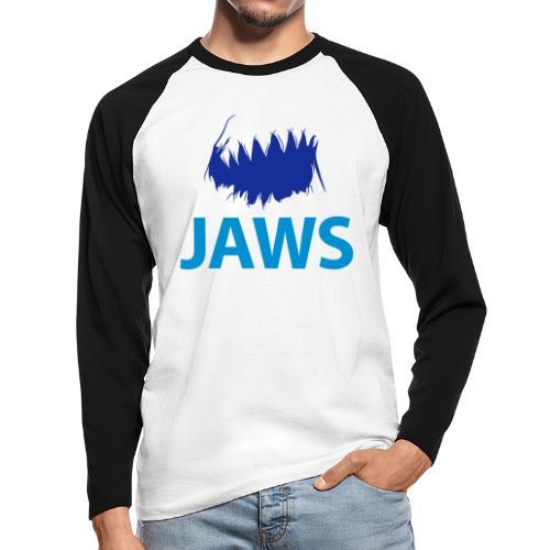 Jaws Dangerous T-Shirt - Men's Long Sleeve Baseball T-Shirt