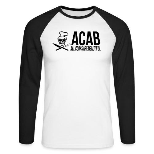 acablang - Männer Baseballshirt langarm