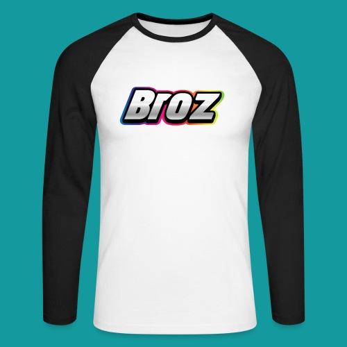 Broz - Mannen baseballshirt lange mouw
