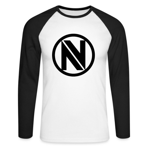 NV png - Men's Long Sleeve Baseball T-Shirt