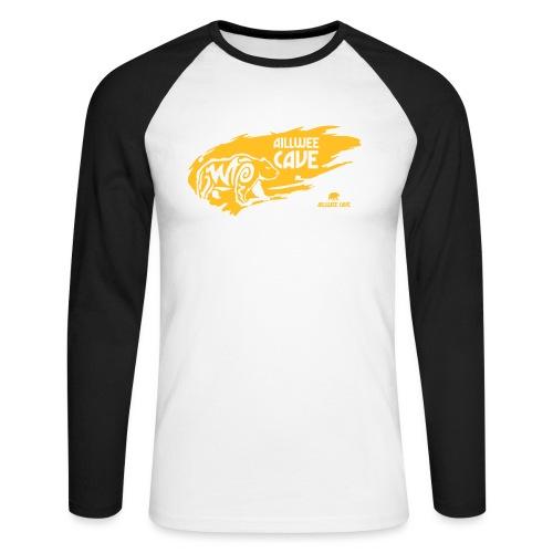 Legend_-_Aillwee_Cave1 - Men's Long Sleeve Baseball T-Shirt