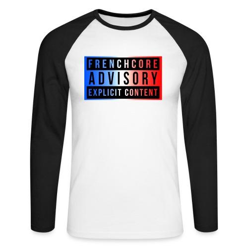 Frenchcore - Men's Long Sleeve Baseball T-Shirt