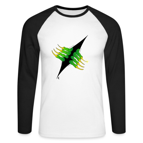 devilinside - T-shirt baseball manches longues Homme