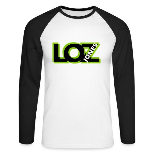 Big LOZ Logo - Men's Long Sleeve Baseball T-Shirt