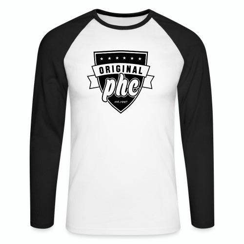 PHC transparent - Långärmad basebolltröja herr