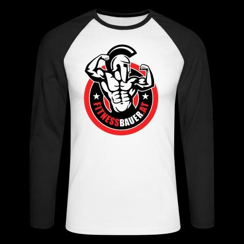 FitnessBauer von Max - Männer Baseballshirt langarm
