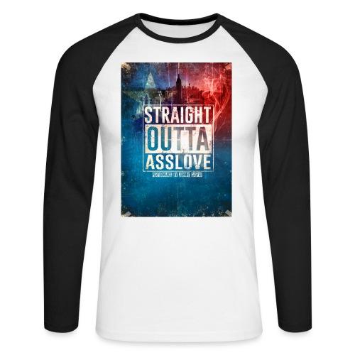Johnny Caspar ASSLOVE - Männer Baseballshirt langarm